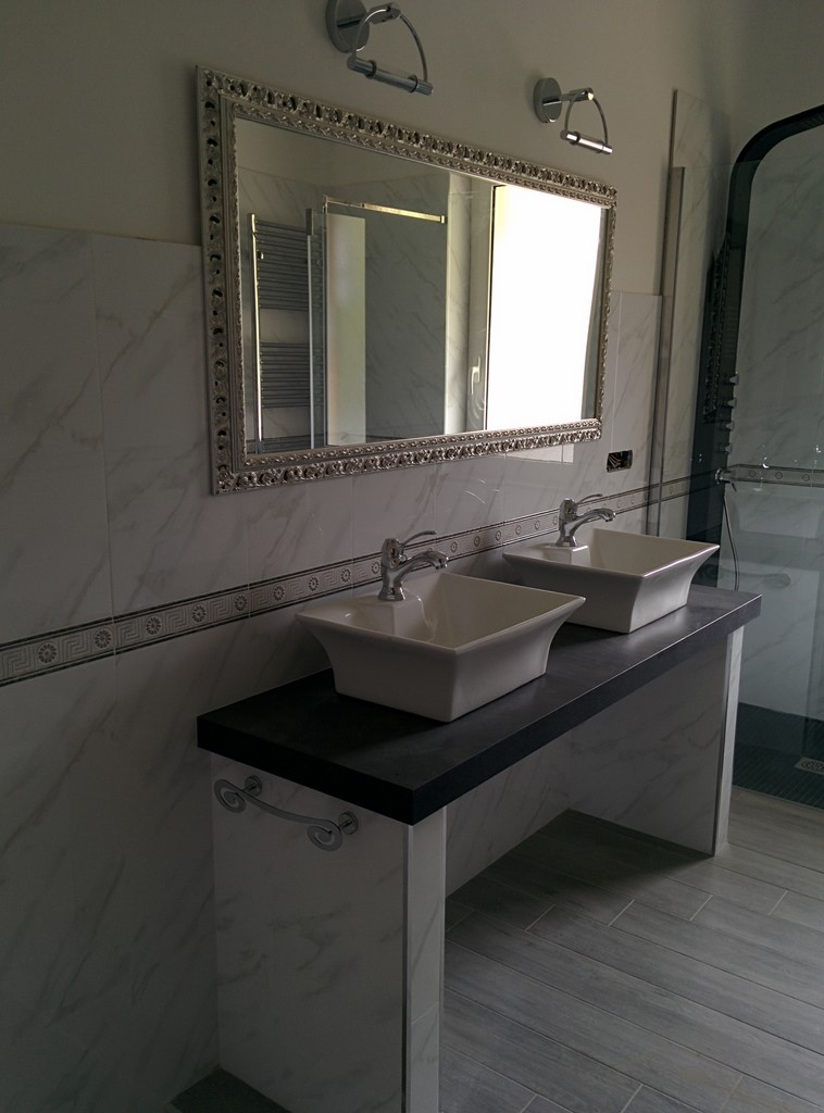 Bagno in marmo bianco carrara - Bagno in marmo bianco ...